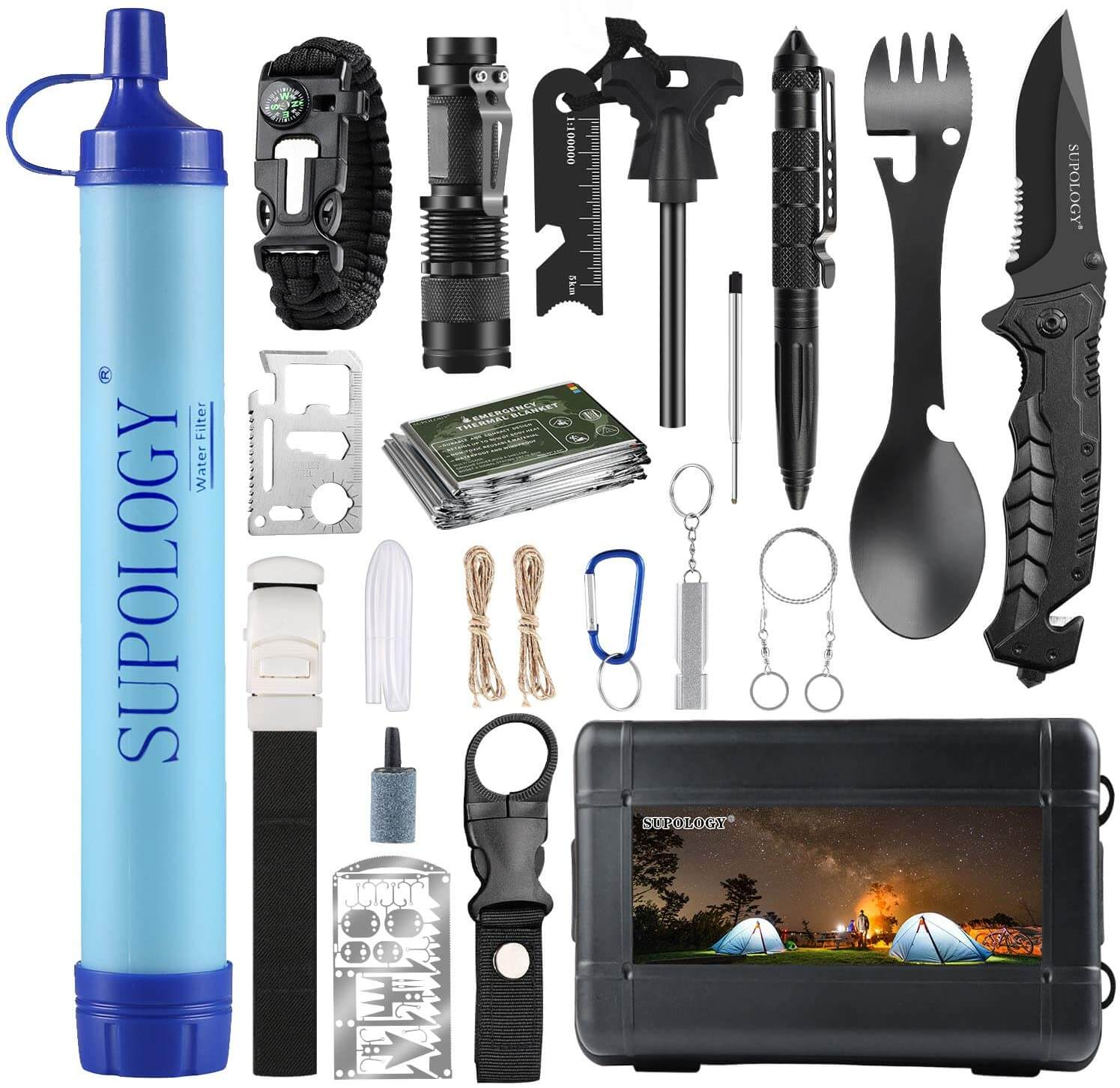 Survival Emergency Kits Gear,