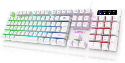 Gaming Keyboard USB Wired Floating Keyboard