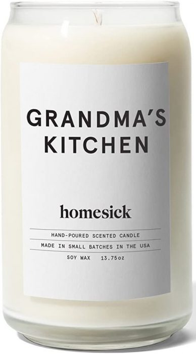 scented candle grandma's kitchen