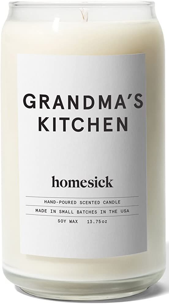 Scented Candle, Grandma's Kitchen